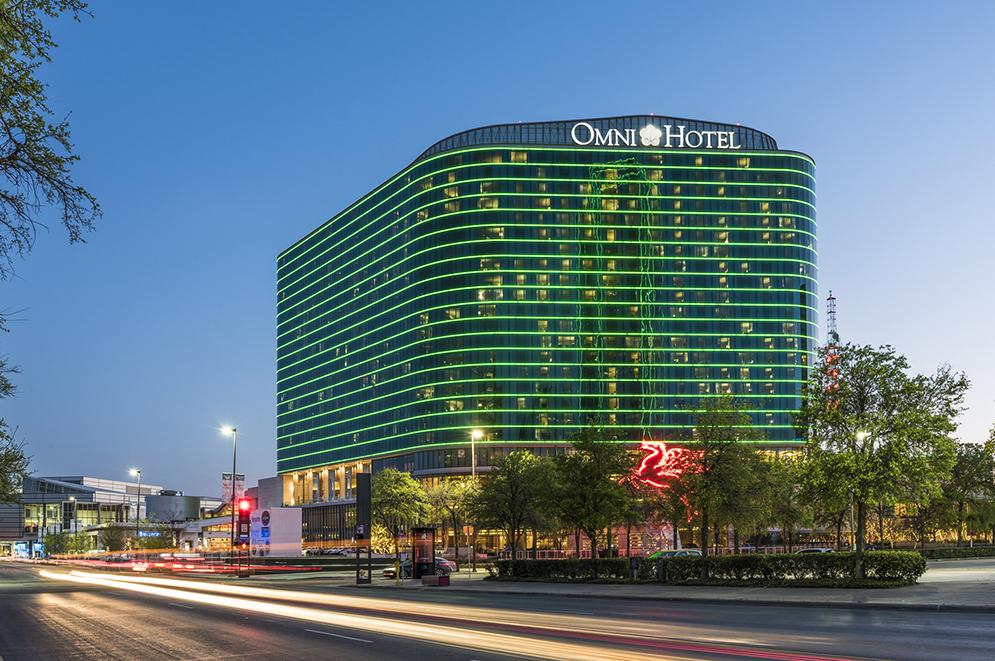 Omni Dallas Convention Center Hotel Boka Powell