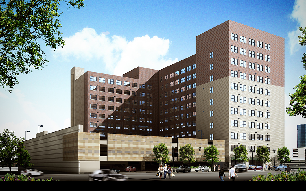 Transformation Of Historic Hunter Plaza Into Affordable Loft Style  Apartments Begins In Downtown Fort Worth