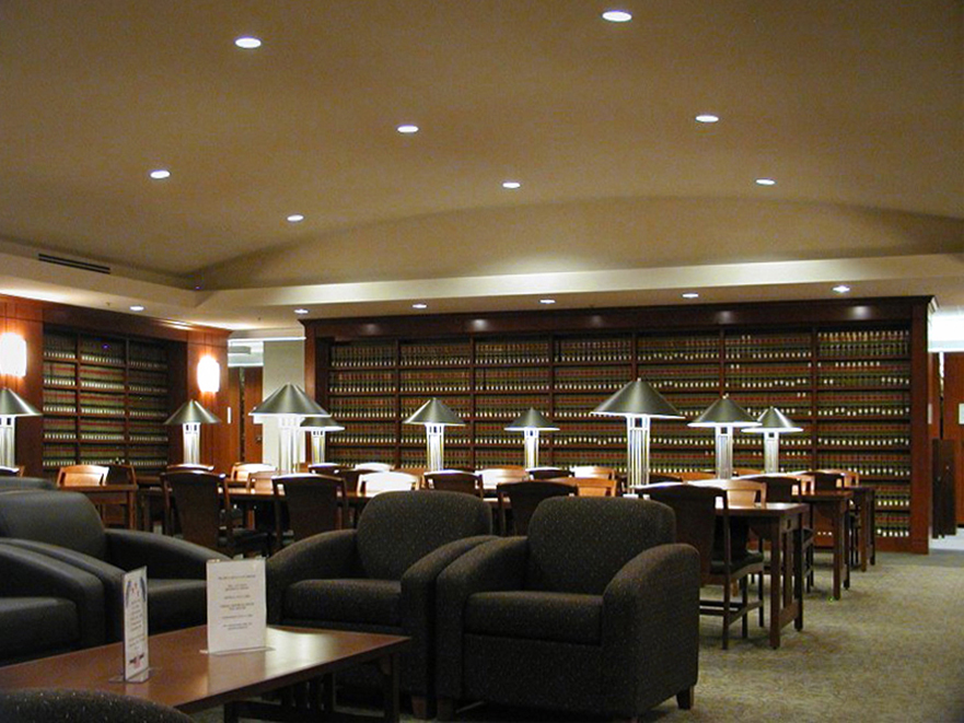 Texas wesleyan university law library boka powell - Interior design firms fort worth tx ...