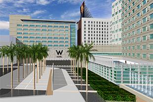 W Hotel Block Development
