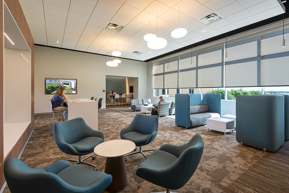 Tarrant county college southeast campus learning commons - Tarrant county college interior design ...