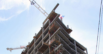 Uptown Dallas tower heads toward completion on McKinney Avenue