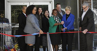 Hunter Plaza affordable housing reopens in downtown Fort Worth