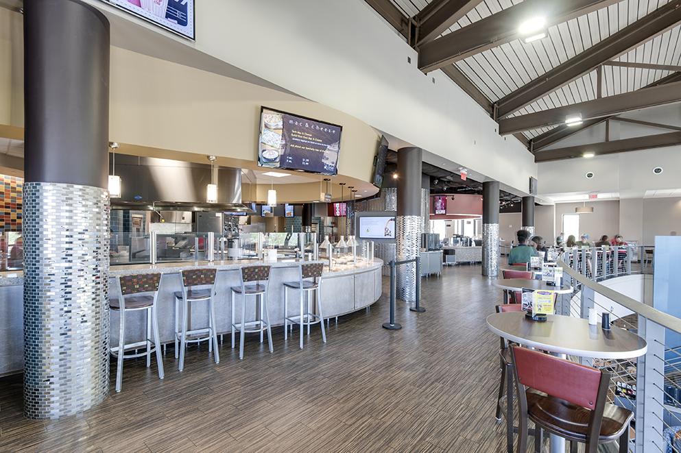 Texas Tech University Talkington Dining Hall