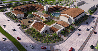 Construction begins on new Texas-style hotel in Irving's Las Colinas Urban Center