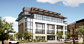 New office project going up on Maple Avenue in Dallas' Oak Lawn neighborhood